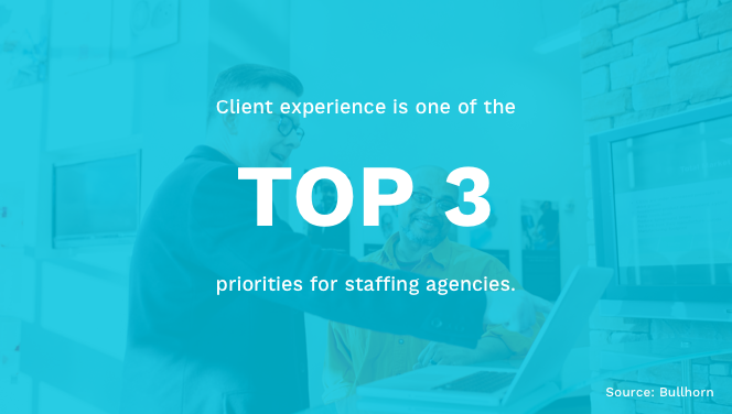 Client Experience in Staffing